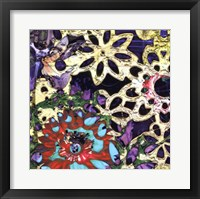 Framed Bejeweled Woodblock IV