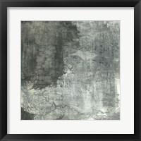 Framed Gray Abstract II