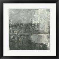 Framed Gray Abstract III