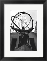 Framed Atlas at Rockefeller Center