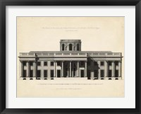 Framed Antique Facade I