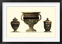 Framed Urn Triad IV