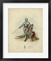 Framed Men in Armour I