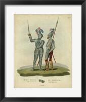 Framed Men in Armour II