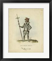 Framed Men in Armour III