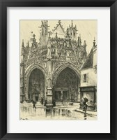 Ornate Facade I Framed Print