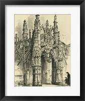 Ornate Facade IV Framed Print