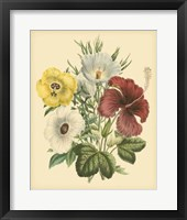 Framed Garden Bouquet I