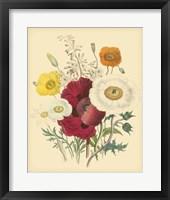 Framed Garden Bouquet II