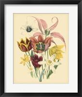 Framed Garden Bouquet IV