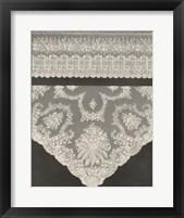Framed Vintage Lace III
