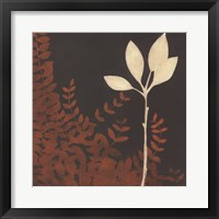Garden Cameo I Framed Print