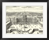 Fountains of Versailles II Framed Print