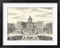 Fountains of Versailles IV Framed Print