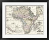 Framed Map of Africa