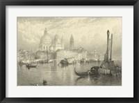 Framed Vintage Venice