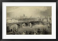 Framed General View of London