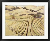 Framed Summer Vineyard