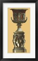 Framed Vase et Piedestal I