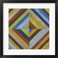 Converge I Framed Print