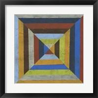 Converge III Framed Print