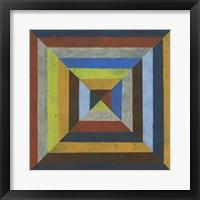 Converge IV Framed Print