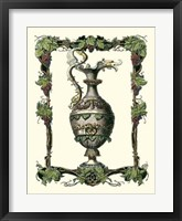 Framed Wine Vessel I