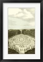 Garden at Versailles I Framed Print