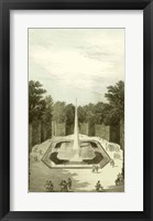 Garden at Versailles IV Framed Print