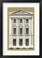 Framed Grand Facade III