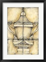 Ceramic Urn II Framed Print