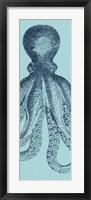 Octopus Triptych II Framed Print