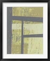 Zest Abstract I Framed Print