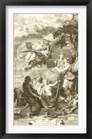 Framed Atlas Historique