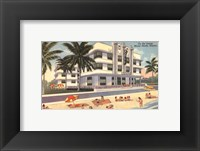 Framed Miami Beach III