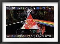 Framed Pink Floyd Dark Side of the Moon - 40th A