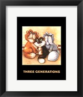 Framed Three Generations