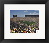 Framed Michigan Stadium University of Michigan Wolverines 2011