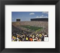 Framed Michigan Stadium University of Michigan Wolverines 2011