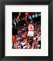 Framed Clyde Drexler 1994-95 Action