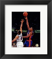 Framed Isiah Thomas 1993 Action