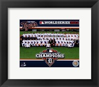 Framed Detroit Tigers 2012 American League Champions Team Photo