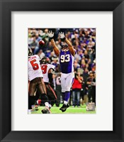 Framed Kevin Williams 2012 Action