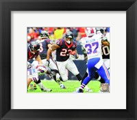 Framed Arian Foster 2012 Action