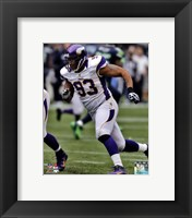 Framed Kevin Williams 2012 Running Action
