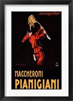 Framed Maccheroni Pianigiani 1922