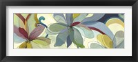 Framed Silk Flowers I