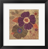 Framed FALL FLOWERS I - MINI