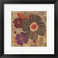 Framed FALL FLOWERS II - MINI