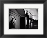 Framed ESCALIER D'HIER